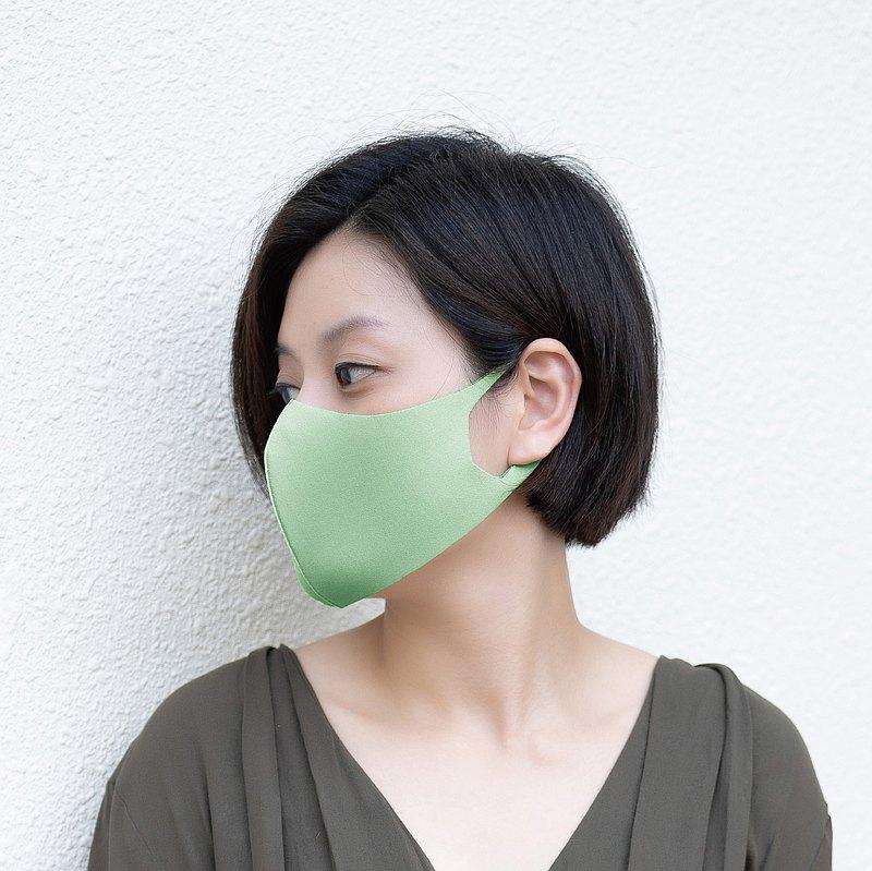 涼感系列-色-3D立體透氣抗菌口罩1入組
