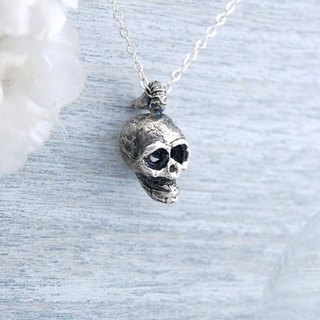Mystery of Death - Silver Skeleton Necklace