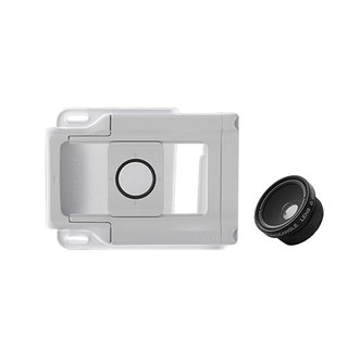 Bitplay universal lens buckle combination (standard wide angle + macro lens)