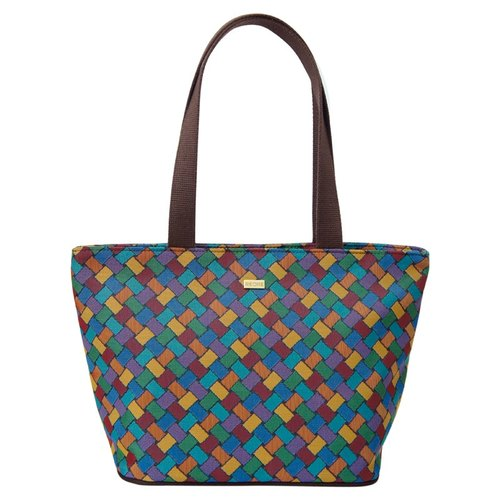 The tote bag gorgeous coffee interweave
