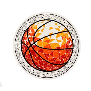 BasketBall Water Absorbent Coaster