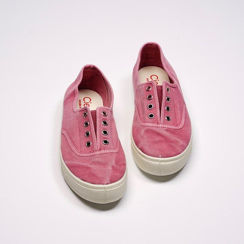西班牙國民帆布鞋 CIENTA 10777 42 粉紅色 洗舊布料 大人
