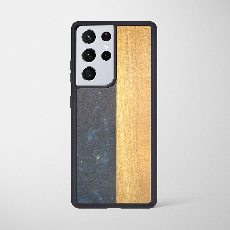 Samsung epoxy wooden resin phone case  - Boundary