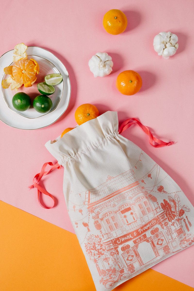 Drawstring Bag Shophouse