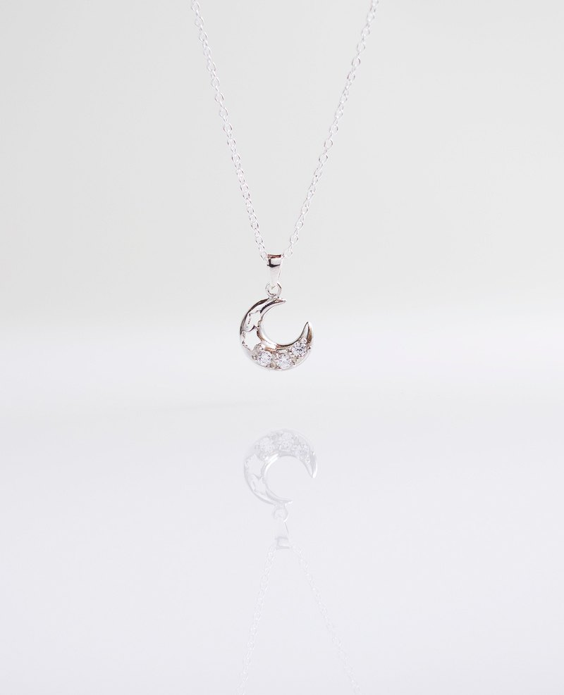 Xingyue Diamond Necklace Handmade 925 Sterling Silver