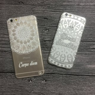 (Spot special) mobile phone shell iphone6 ​​/ 6Plus transparent soft shell (other models welcome custom)