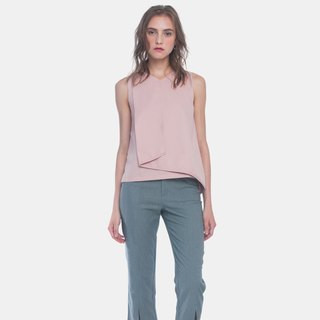 Layered Foldover Top (Pink)