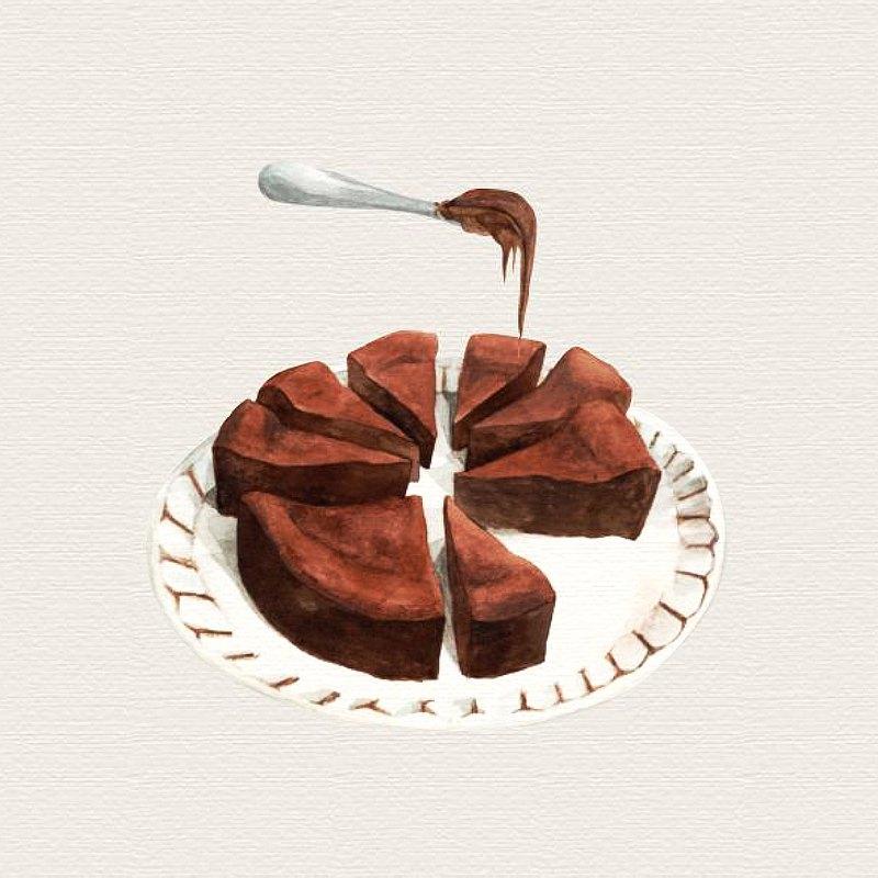 白色情人節 布朗尼 100%濃郁巧克力 滿千免運