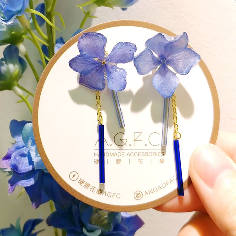 AGFC 3D Real Flower 2-ways Earrings Order to make