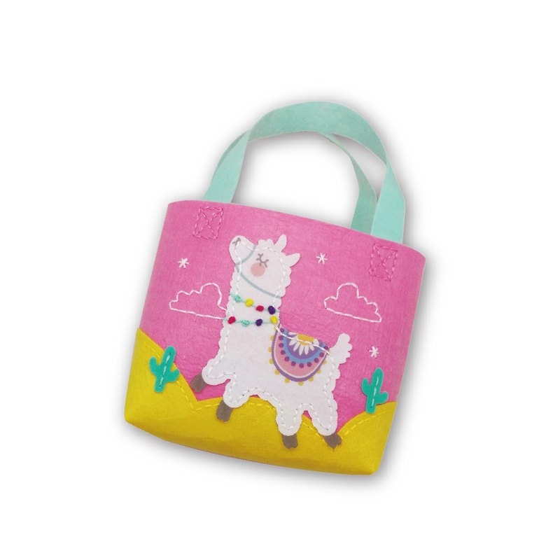 Fairy Land [Material Pack] Alpaca Small Bag - White