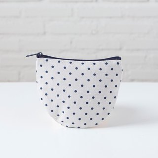 Curvy Bag S Blue Dot