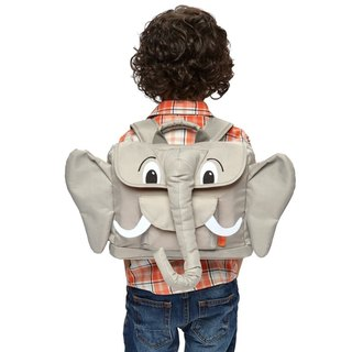 American Bixbee3D animal play series - gentle powder like a child backpack