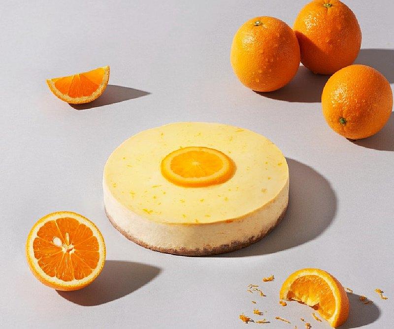 【1%bakery父親節蛋糕】日夏香橙重乳酪蛋糕6吋