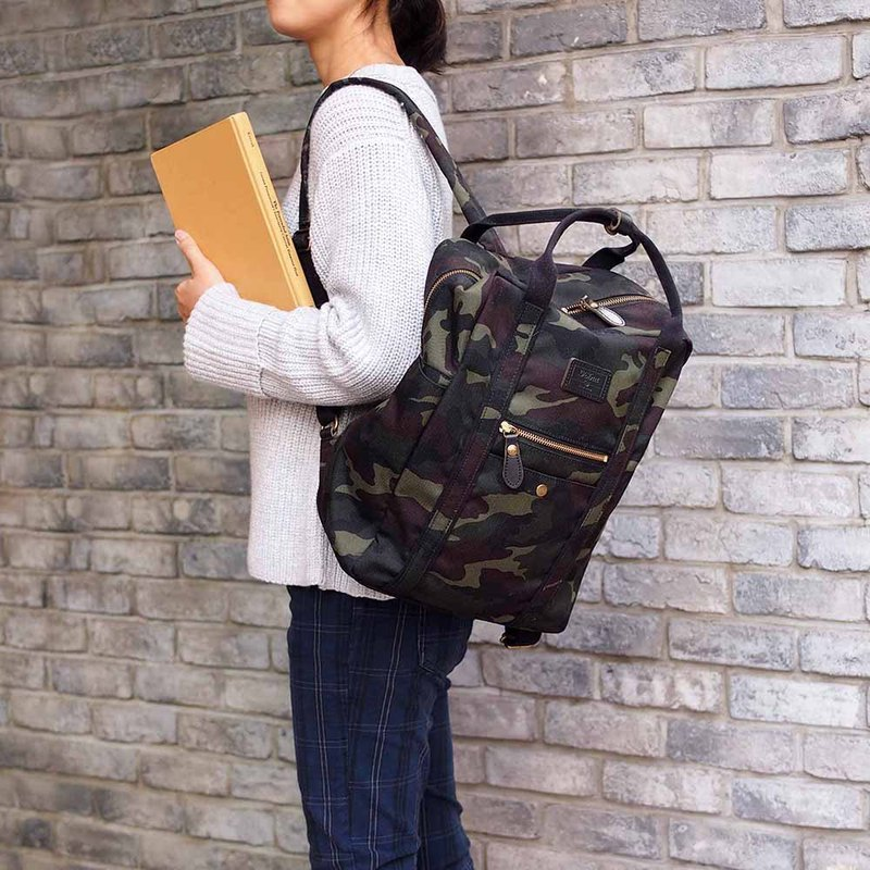 Japanese Casual Personality Handbag/Backpack Made in Japan by FOLNA