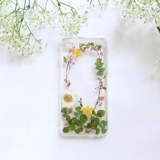 Green Blanket :: pressed flower phonecase