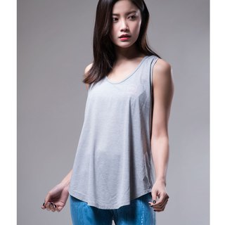 Aurora soft vest / light gray ash
