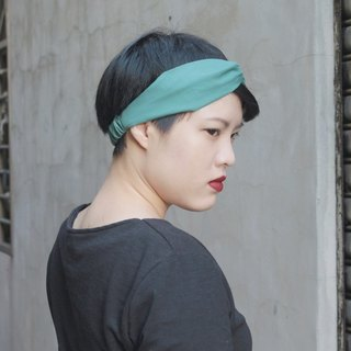 仲夏 / 素面 /  單色 / 手工鬆緊髮帶_Midsummer//cotton/Taiwan handmade elastic hairband
