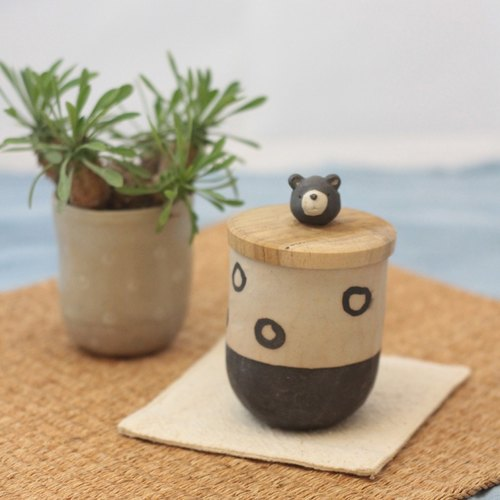 ceramic somebody cup (bear)
