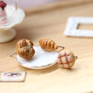 Miniature Classic Bread Earring Set Miniature Classic Bread Earring Set