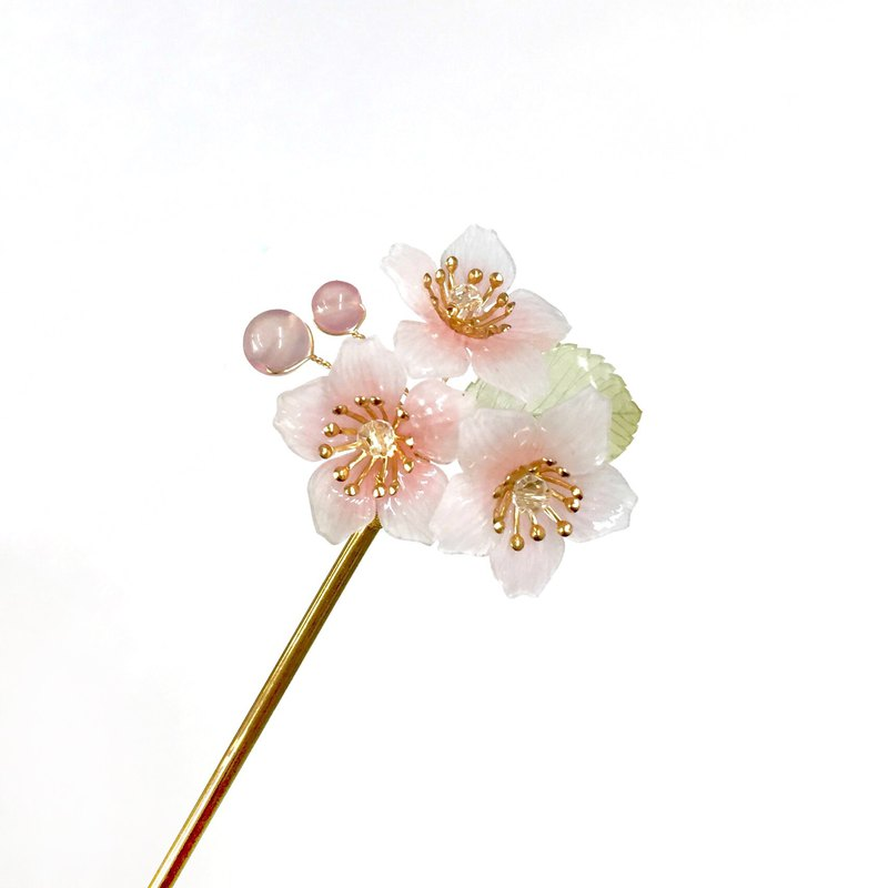 [If Sang] Spring. Sakuraji IV. Pink section. The cherry blossoms of the mountains. Resin cherry blossoms.