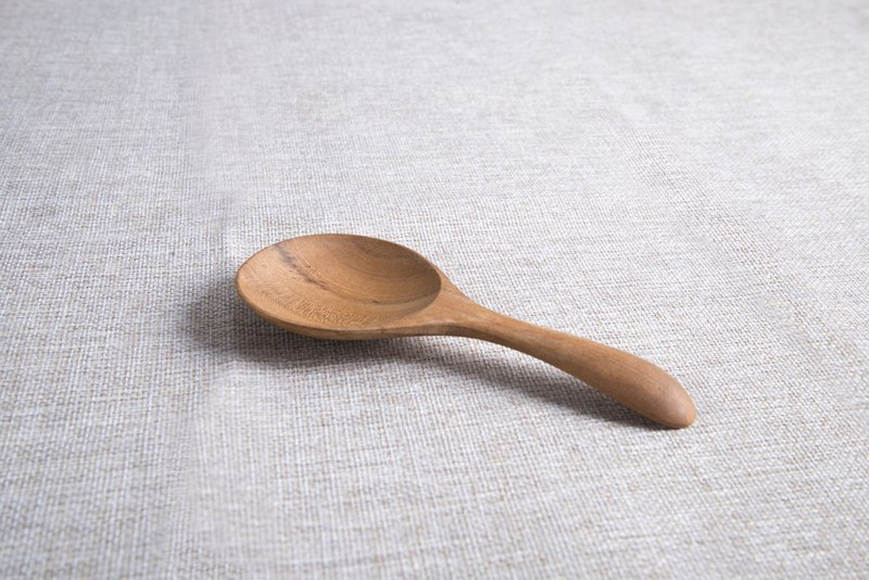 Handmade teak rice spoon