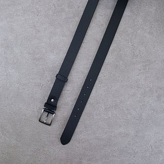 Be Two ∣ 34mm Italian embossed vegetable tanned leather handmade belt / standard wide belt (multicolor)