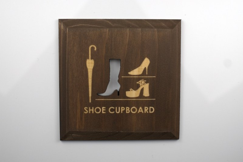 鞋盒板布朗鞋櫃(PB)