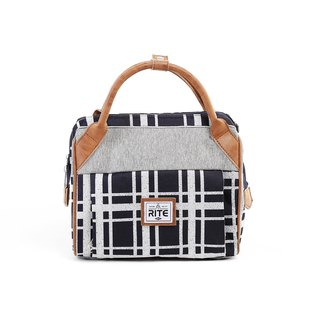 RITE- Urban║ roaming package (M) cross-section - gray / blue grid