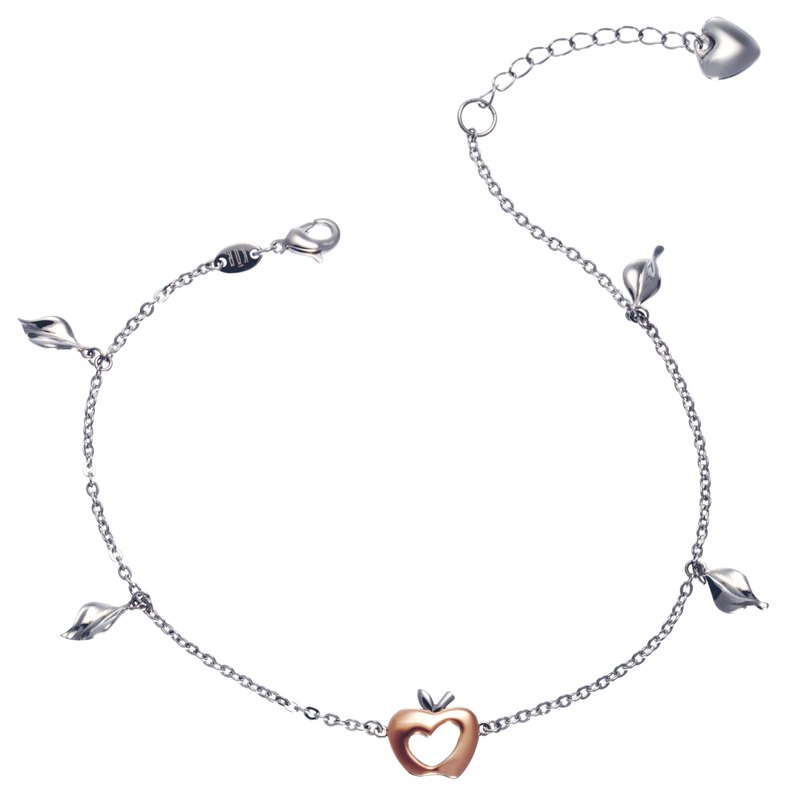 316L Surgical Steel with 14K Gold Anklet Casting Jewelry for Female