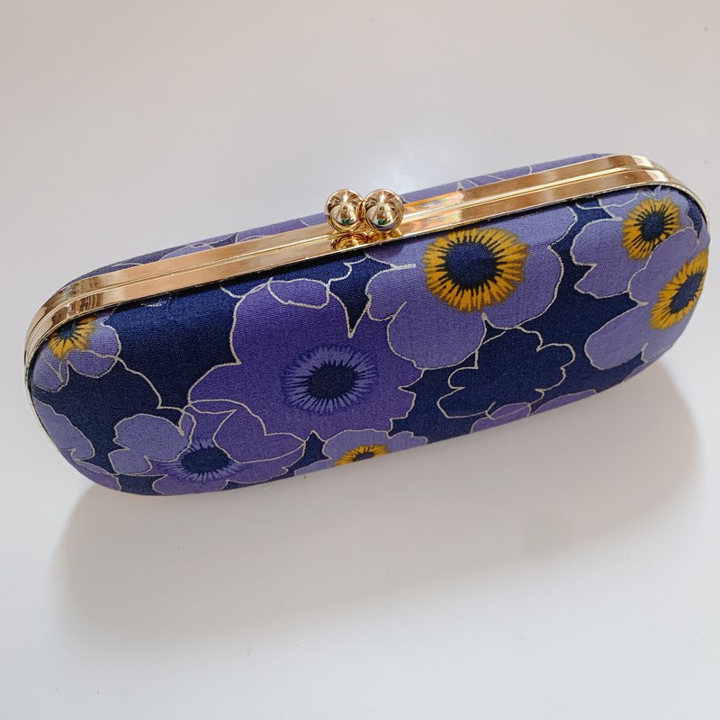 Violet glasses case / pencil case