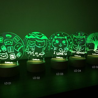【Cattitude】 LED Lamp night light LD01