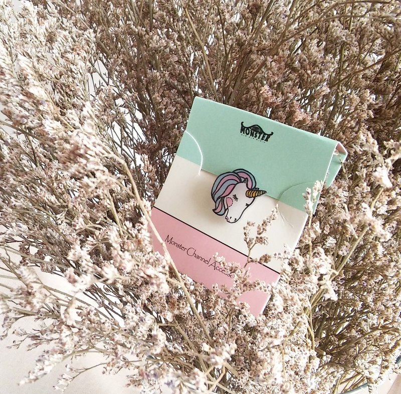 Fairy tale series - unicorn - Pin/ Badge