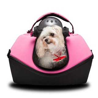 [UFurO Mao Xingren UFO Pet Bag - Peach Pink] Pet out of the cage out of the bag