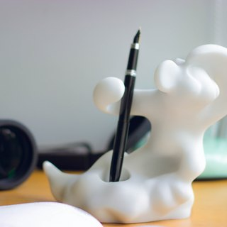 "Seventy change Wukong series _ ""adventurous. Courage monkey ""- Monkey Flower shape tube / pen holder"