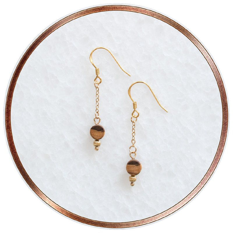 ITW Olive Wood Earring - Secret
