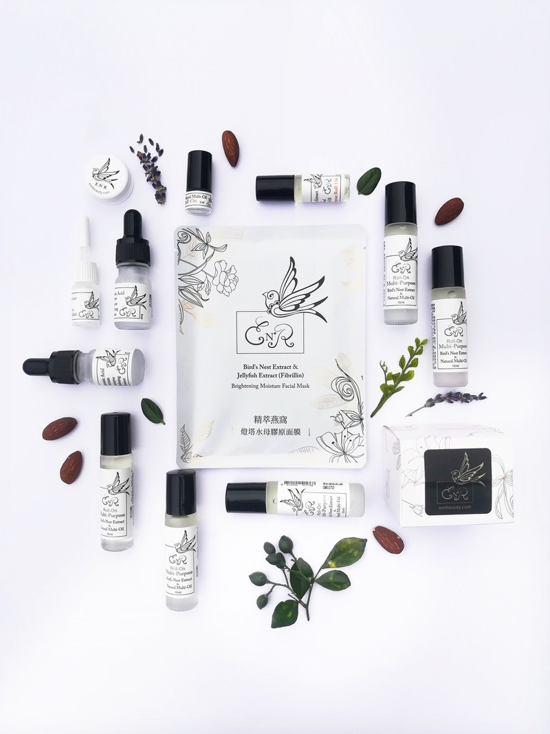 Goody Bag - Bird's Nest Facial Mask & Natural Multi-Oil 26% Off Special Offer