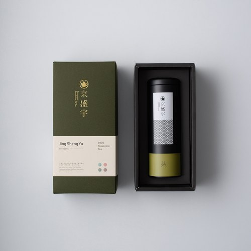 Single pot gift box - Heart bamboo green - Tieguanyin 100g