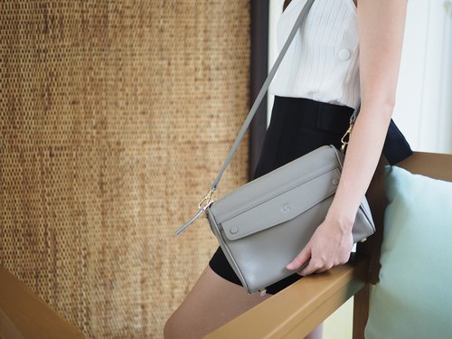 Grace : Crossbody bag, Gray bag, everyday bag