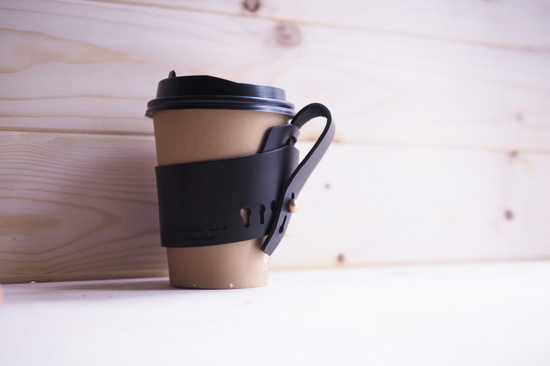 L-LG-E05 -  Coffee Sleeve - Black