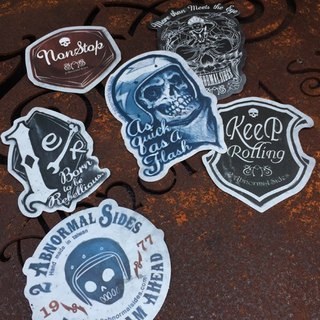 2016 2 Abnormal Sides Stickers | sticker waterproof and UV Value Pack