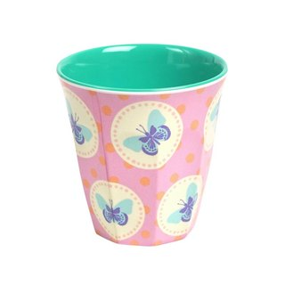 Retro Butterfly S Cup - Pink