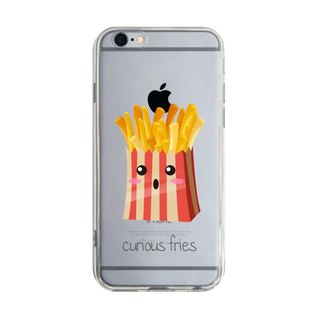 Custom surprisingly good fries transparent Samsung S5 S6 S7 note4 note5 iPhone 5 5s 6 6s 6 plus 7 7 plus ASUS HTC m9 Sony LG g4 g5 v10 phone shell mobile phone sets phone shell phonecase