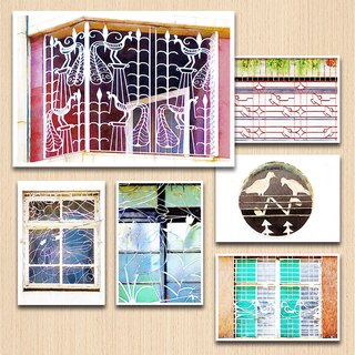 Old House Yan – Bird Bird Window Postcard Set