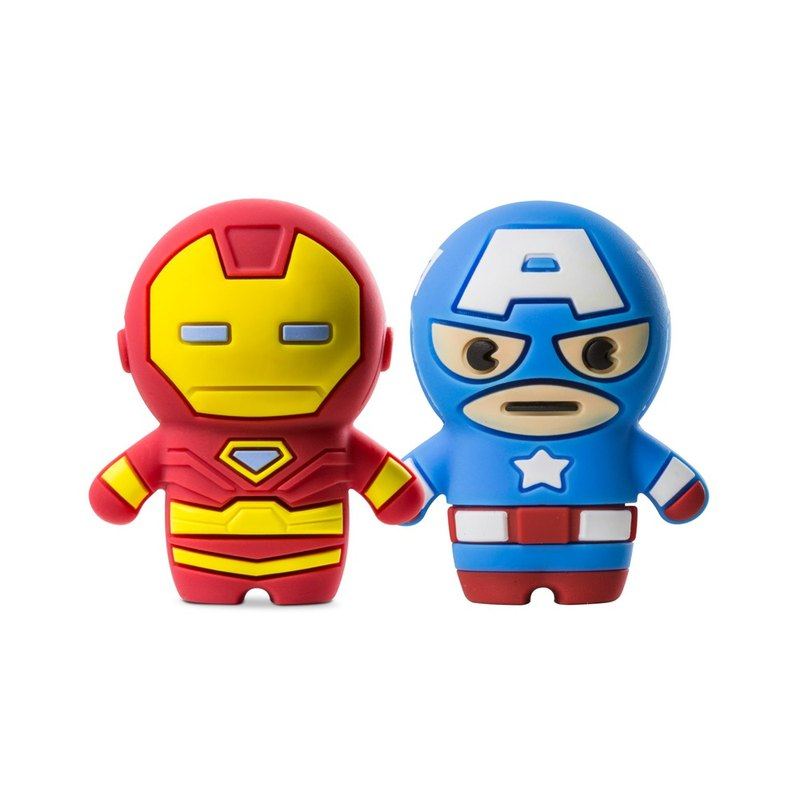 Bone / Marvel Driver (16G) - Captain America / Iron Man