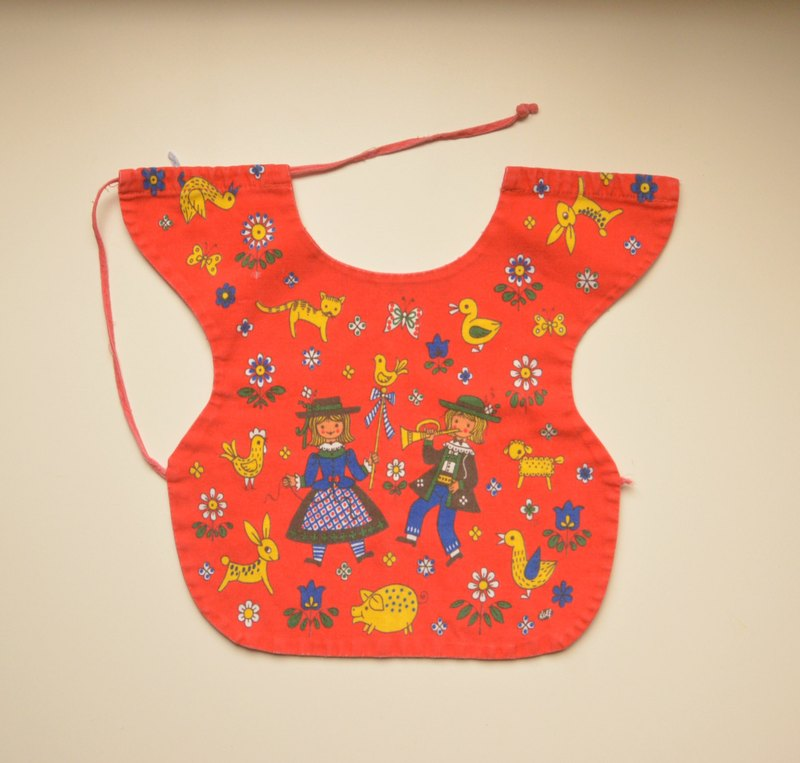 Early German flea children Bibs