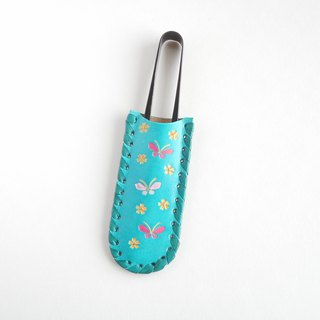 Thread scissors case