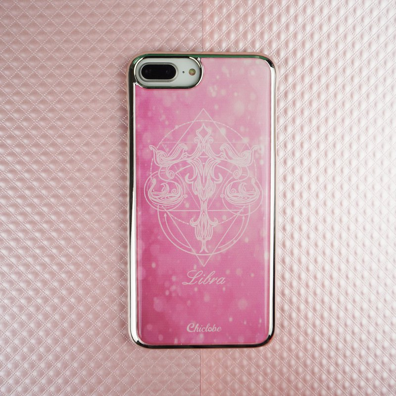 Libra | Silver Border Lucky Phone Case