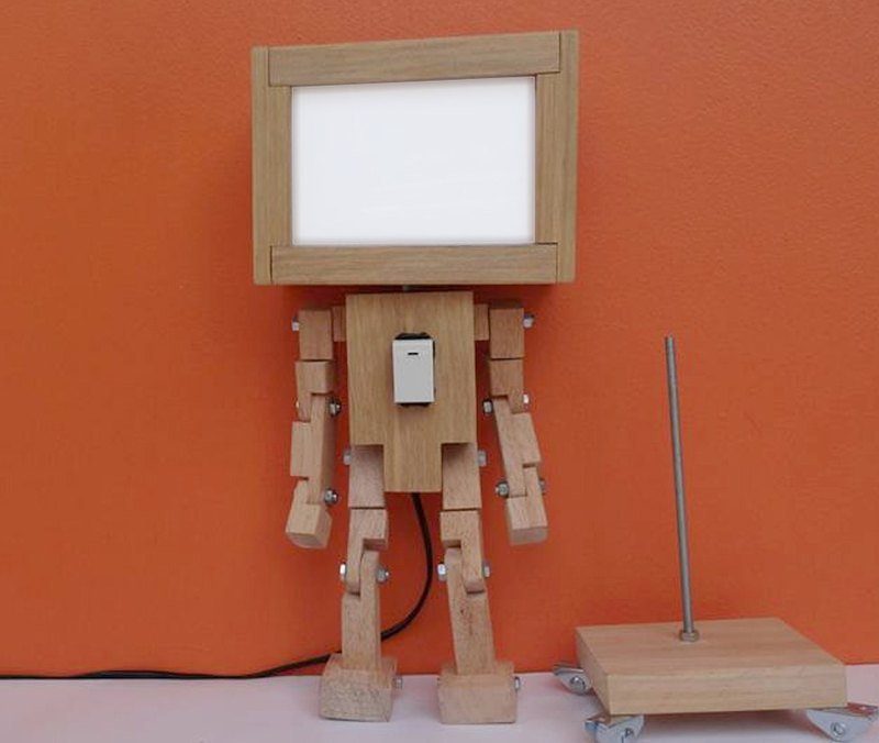Light Box Robot  No.1