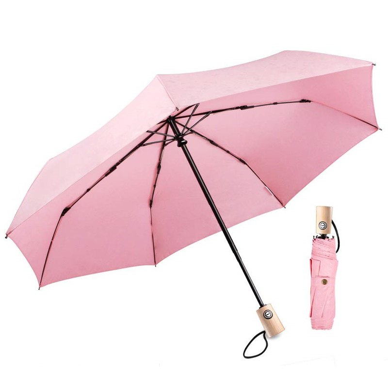 Boy Easy to Receive Automatic Umbrella - BY3073 Pink