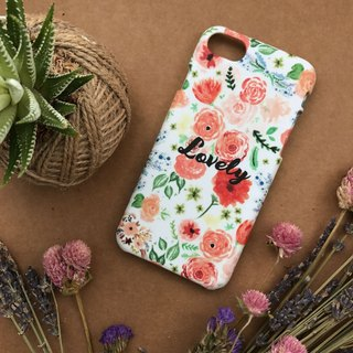 Lovely Floral. Matte Case( iPhone, HTC, Samsung, Sony, LG, OPPO)